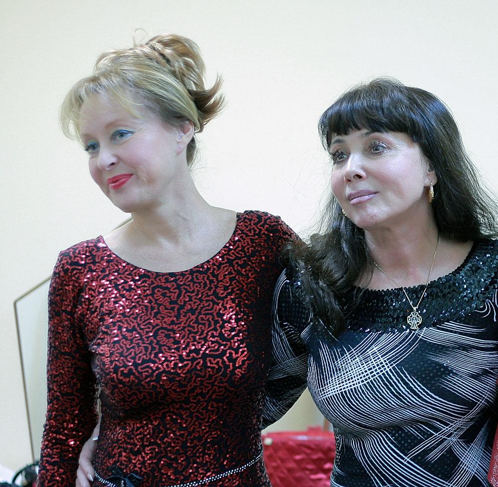 Лариса Удовиченко и Наталья Корчагина